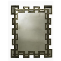 wall-hanging mirror by serge roche