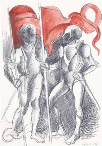 sbandieratori by vittorio basaglia