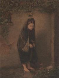 barefoot girl by jacob taanmann