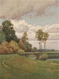 auwald im herbst by josef eidenberger