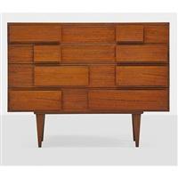 four-drawer dresser, no. 2129 by gio ponti