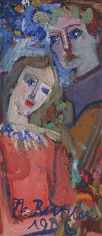 kvinne med mandolin (2 works) by thorstein rittun