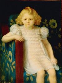 porträt eines jungen mädchens by charles-jean agard