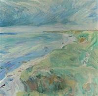 coastal scape from odsherred by sigurd swane