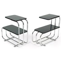 end tables (pair) by alfons bach