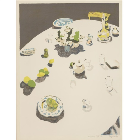 the table by fairfield porter