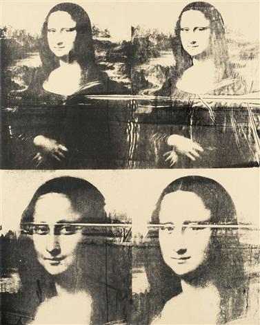 Quelque chose de nouveau assez Mona Lisa Four Times by Andy Warhol on artnet @HG_28