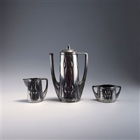 kaffeeservice (set of 3) by peter behrens