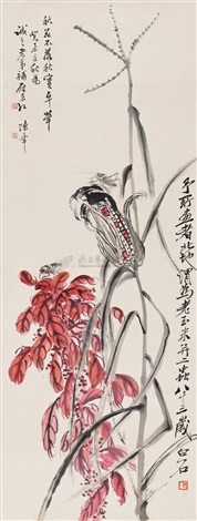 flowers by chen banding and qi baishi