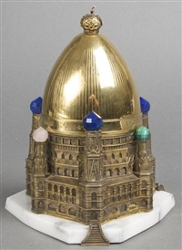 st. basil's cathedral, moscow by théo fabergé