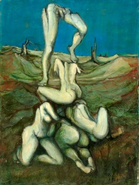 nudes in the field by esther peretz arad