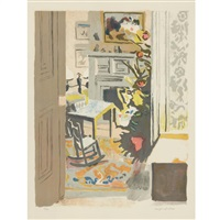 the christmas tree by fairfield porter