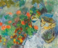 der sommerliche garten by jeanne marguerite frey-surbek