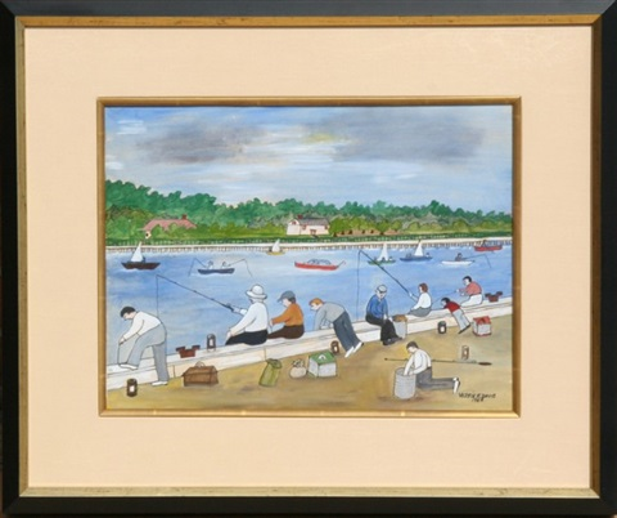 coney island fisherman by vestie e davis