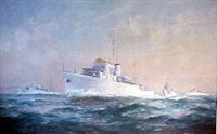 (bathurst sea trials) by john allcott