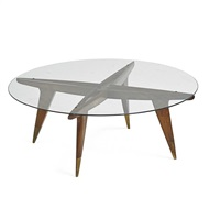 coffee table, no. 1101 by gio ponti