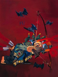 archer by qi mengguang