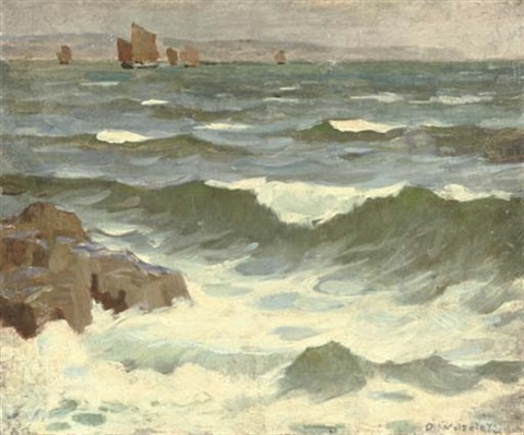 mounts bay cornwall by garnet ruskin wolseley