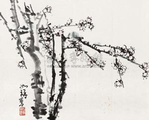 梅 by cui ruzhuo