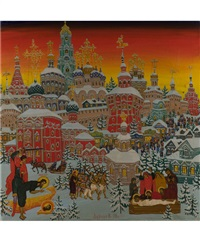 heiliger johannes der täufer by arkharov