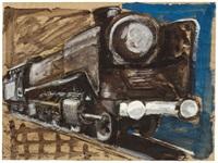 lokomotive by markus lüpertz