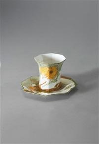 tasse mit unterteller by johannes cornelis heijtze