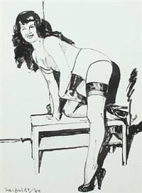 kneeling model by hans henrik lerfeldt