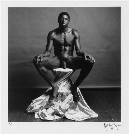 bob love from portfolio z by robert mapplethorpe