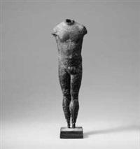 männlicher torso im trikot by peter grossbach