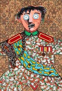 the military strategist by enrico baj