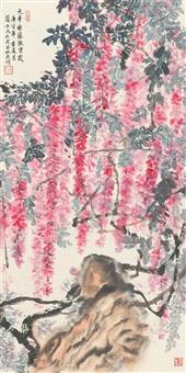 天半垂藤散紫霞 (vine) by xiao anmin