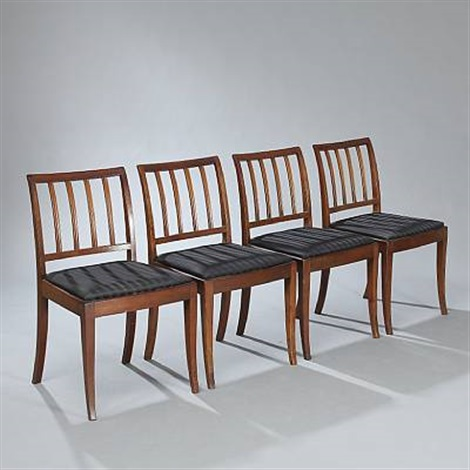 side chairs set of 4 by frits henningsen