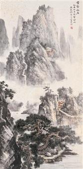 云壑幽居 by ma qi'ou