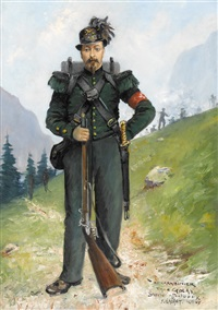 le carabinier by jules gachet