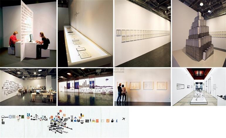 地书项目 (the project of book from the ground) by xu bing