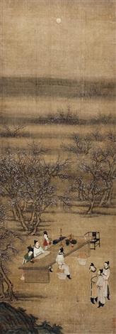 文会图 by zhou chen