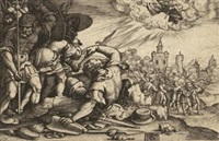 die bekehrung des saulus by georg pencz