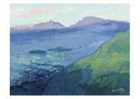 morning color in aso by hitoshi yamaba