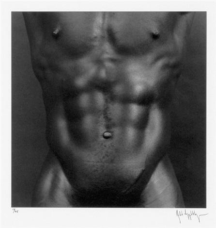 charles bowman, n.y.c. (from portfolio z) by robert mapplethorpe