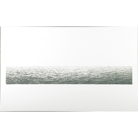 untitled ocean by vija celmins