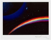 rainbow in space by hashi