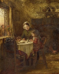 the peasants home by george hardy