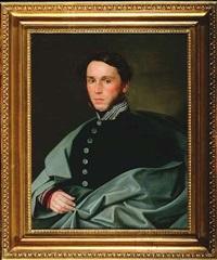portrait des freihern von handel by johann manschgo