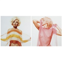 marilyn nude with scarf (from the last sitting for vogue) by bert stern