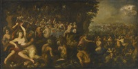 the wedding of neptune and amphitrite by gillis van valckenborch