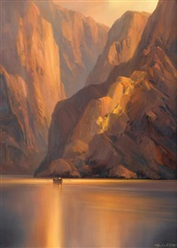 canyon serenity by charles h. pabst