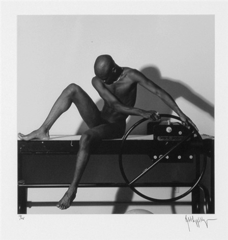 bruce from portfolio z by robert mapplethorpe
