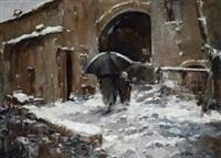 nevicata nel mugello by ferruccio rontini