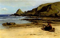 the seaweed gatherers by archibald david reid