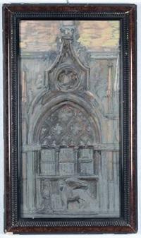 la porta della carta di palazzo ducale a venezia by gino piccioni
